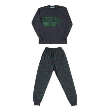 Пижама для мальчиков Ciggo, цв. серый, р-р 122
