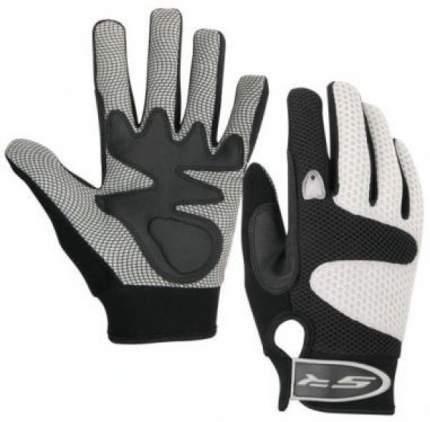 Велоперчатки Stels PDM-368, серый/черный, M