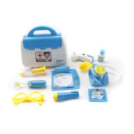 Набор доктора Наша игрушка в сумочке 9 предметов, в ассортименте