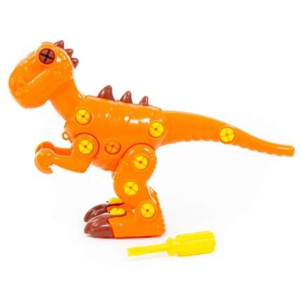 Конструктор-динозавр Полесье Тираннозавр, 40 деталей