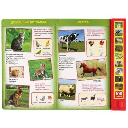 Интерактивная книжка Умка 100 голосов животных