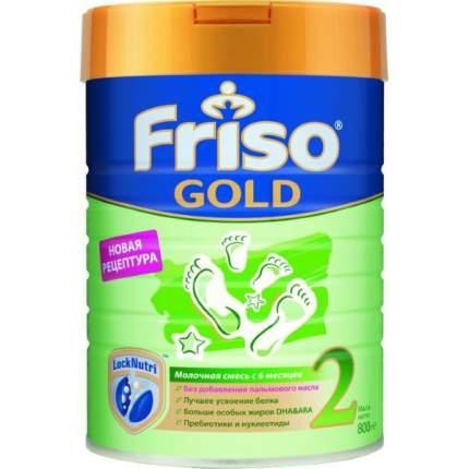 Молочная смесь Friso Gold 2 от 6 до 12 мес. 800 г