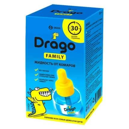 Средство инсектицидное Жидкость от комаров Grass Drago 30 мл