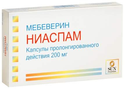 Ниаспам капсулы пролонг. действия 200 мг №30