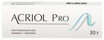 Акриол Про крем для мест. и наруж. прим.2,5%+2,5% 30 г