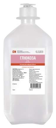 Глюкоза-СОЛОфарм раствор для инфузий 5% флакон 400 мл №1