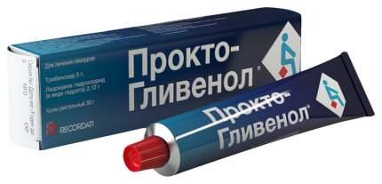 Прокто-Гливенол крем рект. туба 30 г