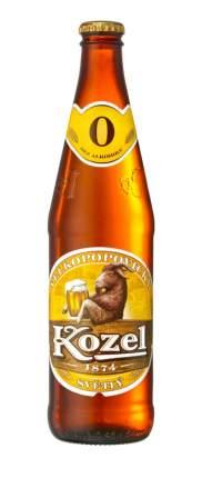 Пиво ВЕЛКОПОПОВИЦКИЙ КОЗЕЛ светлое, безалкогольное бутылка стеклянная 0,45 л