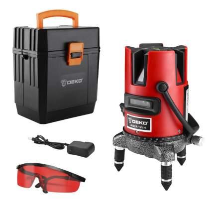 Уровень лазерный в пластиковом кейсе DEKO DKLL02RB + case 065-0276