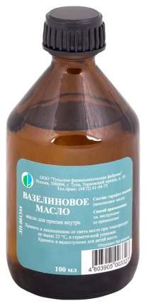 Вазелиновое масло раствор для приема внутрь флакон 100 мл №1/ТФФ