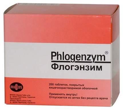 Флогэнзим табл. п.о. раствор./кишечн. №200