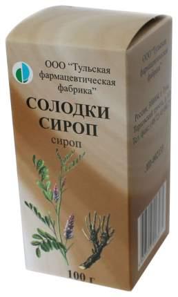 Солодка [корня сироп фл 100 г] N1