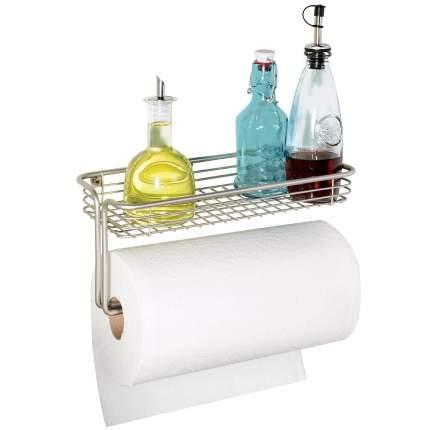 Настенный держатель для бумажных полотенец с полкой Orbinni