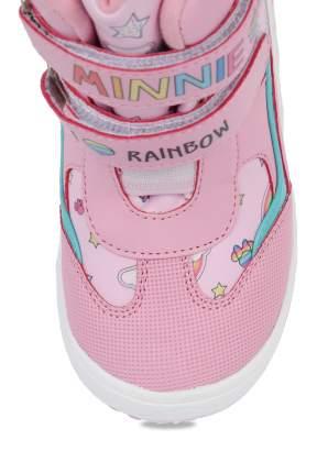 Ботинки для девочек Minnie Mouse, цв. розовый, р-р 25