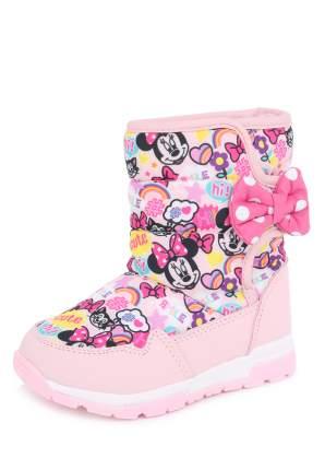 Дутики детские Minnie Mouse, цв. розовый р.20