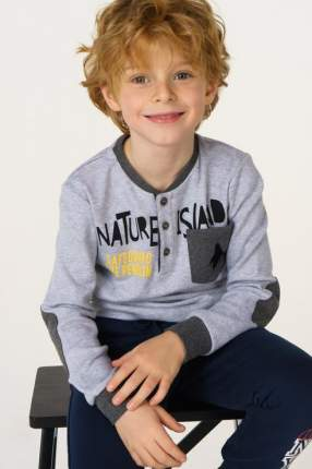 Джемпер для мальчика Sarabanda, цв.серый, р-р 98