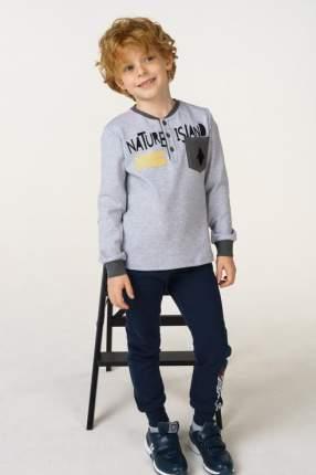 Джемпер для мальчика Sarabanda, цв.серый, р-р 122