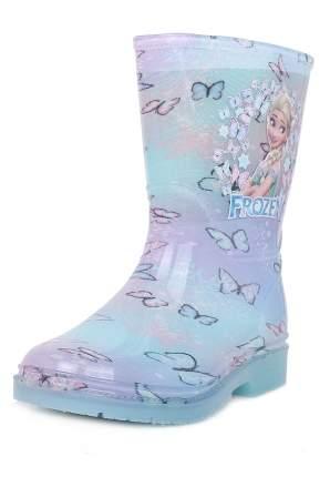 Резиновые сапоги детские Frozen, цв.разноцветный р.25