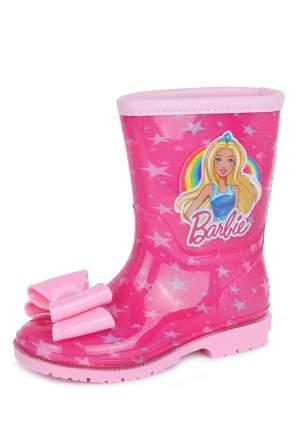 Резиновые сапоги детские Barbie, цв.розовый р.30
