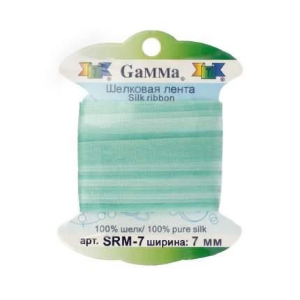 """Тесьма декоративная """"Gamma"""", шелковая, цвет: M020, арт. SRM-7"""