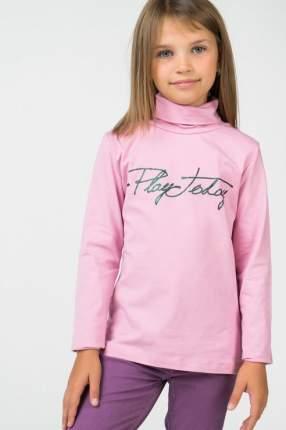 Водолазка для девочки PlayToday, цв.розовый, р-р 134