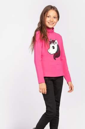 Водолазка для девочки PlayToday, цв.розовый, р-р 128