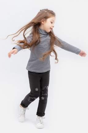 Водолазка для девочки PlayToday, цв.серый, р-р 104