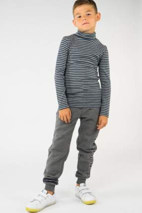Водолазка для мальчика Button Blue, цв.серый, р-р 158
