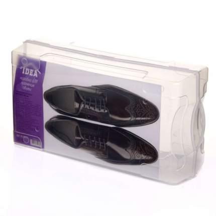 Коробка для хранения обуви, 32 х 14,2 х 10,5 см