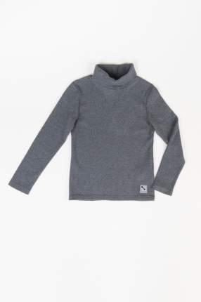 Водолазка для мальчика Button Blue, цв.серый, р-р 104