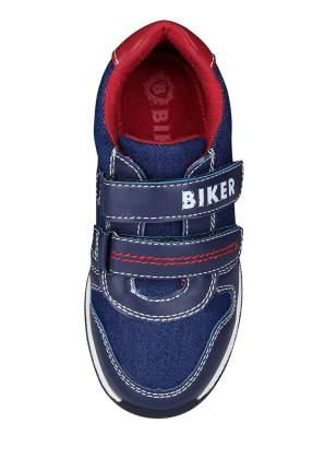 Кроссовки детские Biker, цв.синий р.25
