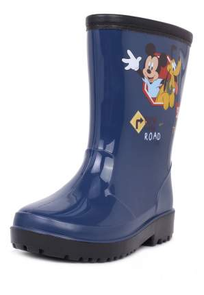 Резиновые сапоги детские Mickey Mouse, цв.синий р.22