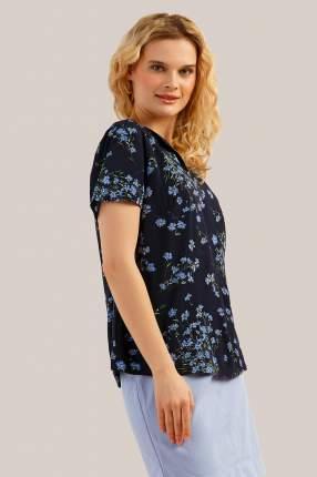 Блузка женская Finn-Flare S19-11021 синяя M