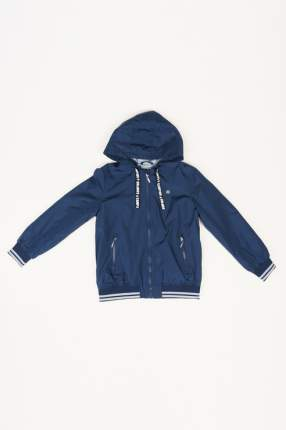 Ветровка для мальчика Button Blue, цв.синий, р-р 134