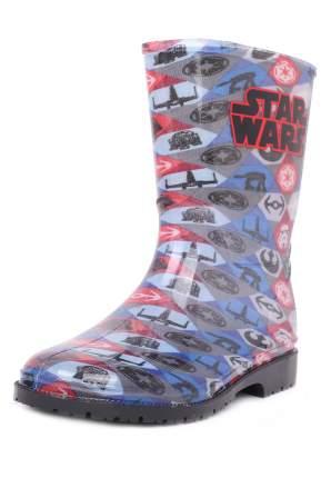 Резиновые сапоги детские Star Wars, цв.разноцветный р.35
