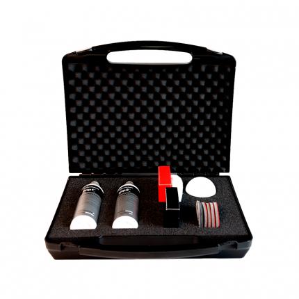 Набор для полировки фар Koch Chemie Headlight Polish Set 999600 2х0,25 л
