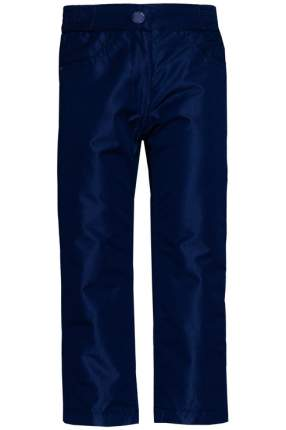 Брюки утепленные для девочки Button Blue, цв.синий, р-р 104