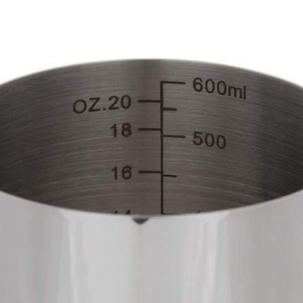 Питчер Classix Pro 600мл стальной с разметкой