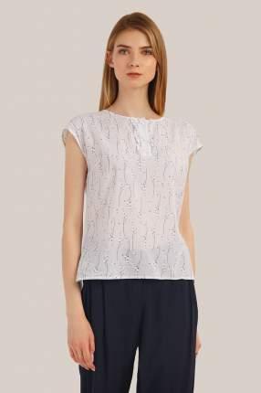 Блузка женская Finn-Flare S19-11074 белая L