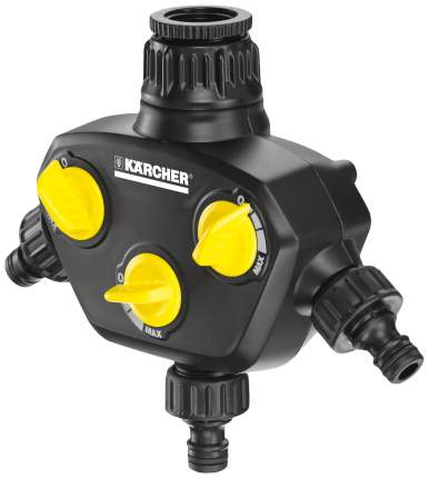 """Разветвитель для полива на 3 канала Karcher 2.645-200.0 1/2""""-3/4"""""""