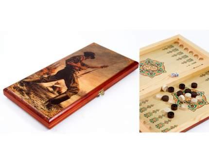 """Игра настольная """"Охота в стиле Бохо"""", 40x20 см, арт. 42840"""