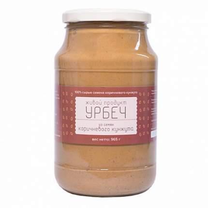 Урбеч из семян коричневого кунжута Живой продукт 965 г