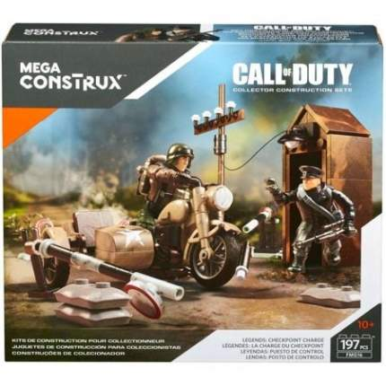 Конструктор Mega Construx Call of Duty Охрана границы, 197 деталей