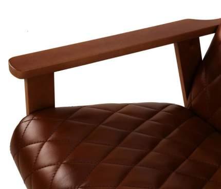 Кресло для отдыха Вилора c прострочкой, Oregon antik 39, Бук