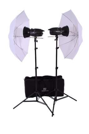 Комплект импульсных осветителей FST E-180 Umbrella KIT