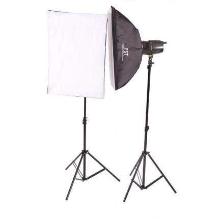 Комплект импульсных осветителей FST E-250 Softbox KIT
