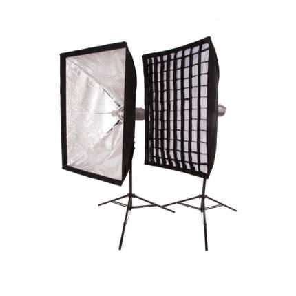 Комплект импульсных осветителей FST PRO-600 Softbox kit