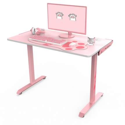 Стол для компьютера (для геймеров) Eureka I1-S, розовый