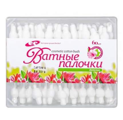 Ватные палочки детские с ограничителем ЕмельянЪ СавостинЪ 3х60 шт.