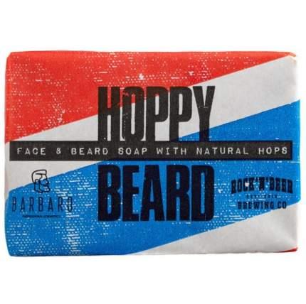 Мыло для бороды и лица Barbaro Hoppy Beard Face & Beard Soap With Naturals Hops 90 гр